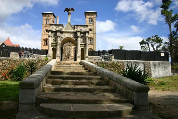 Мадагаскар, дворец Манжакамиадана или Рова